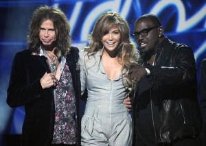Steven Tyler, Jennifer Lopez, Randy Jackson