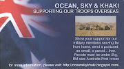 Support Australian Service Members - Send a card, letter, fax, parcel... free