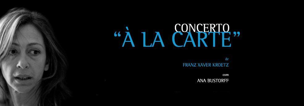 """Concerto """"à la carte"""""""