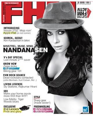Nandana Sen – FHM India (February 2010)