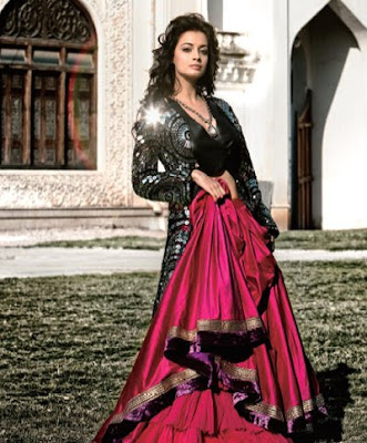 Dia Mirza Bridal Photo Shoot