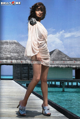 Dia Mirza Sexy Harpers Bazaar Bikini Photoshoot