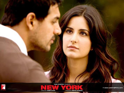 hot Katrina Kaif & John Abraham in New York