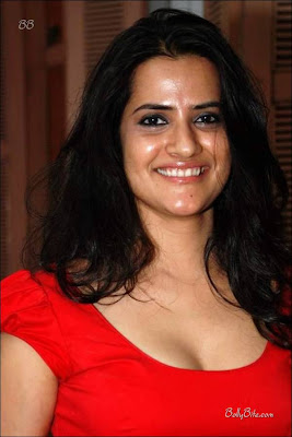 Gorgeous Sona Mohapatra in Red Dress