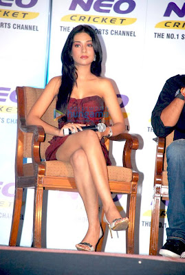 Gorgeous Amrita Rao at Annoucement of Neo Cricket Season