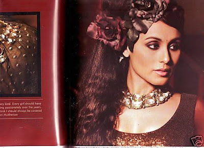 Rani Mukherjee Hottest Photoshoot For Hi!Blitz Magazine
