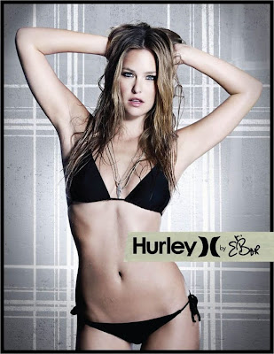 Gorgeous Bar Refaeli New Hurley BIKINI AD