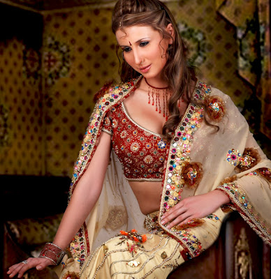 Claudia Ciesla Big Boss 3 Babe in a Desi Look