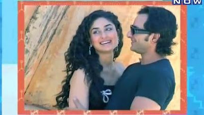Kareena, Saif Photoshoot for Hi blitz, Hi living