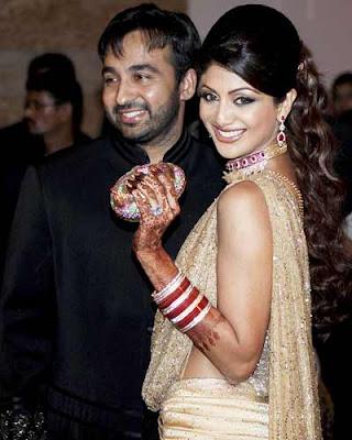 Shilpa, Raj Wedding Reception Photos