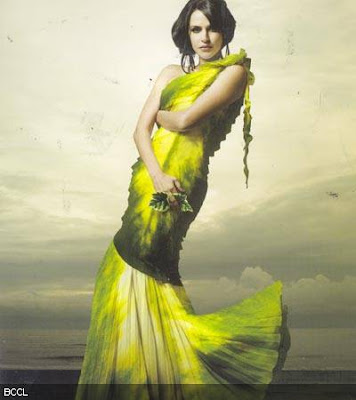 Neha Dhupia Hot Go Green Calendar 2010 Photoshoot