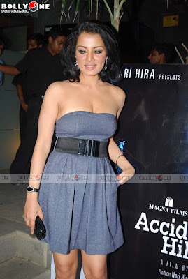 Celina Jaitley Sizzles at Accident on Hill Road Promotion