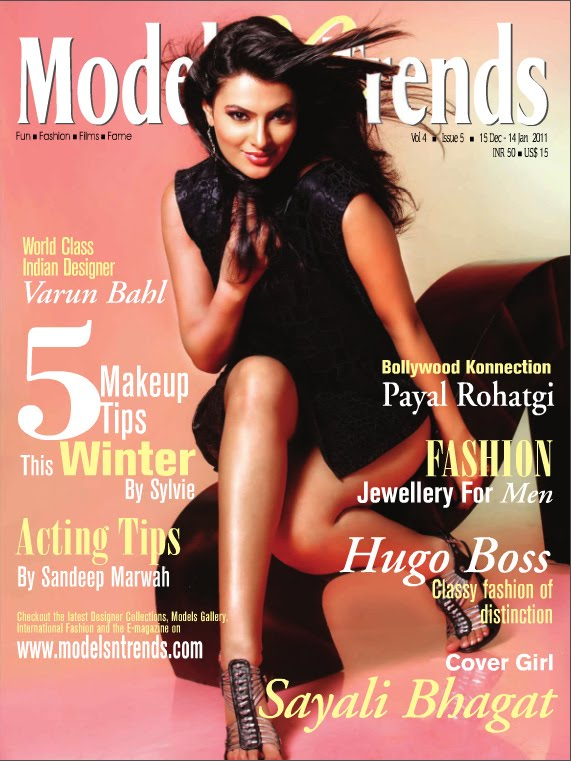 Sayali Bhagat Photoshoot Models n Trends Magazine