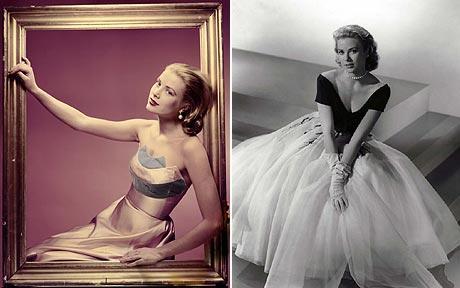 grace kelly dresses. wardrobe of Grace Kelly,