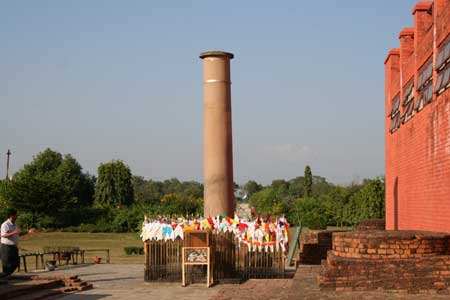 Lumbini is said to be the location of the birthplace of Buddha,