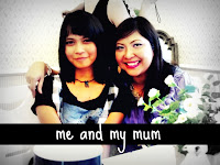 ♥ me and my mum  ♥