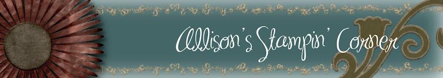 Allison's Stampin' Corner
