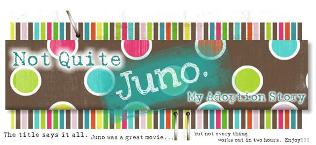 Not quite Juno. My Adoption Story