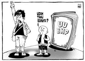 karikatur opini; UU BHP