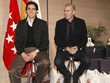 Kaká e Zidane farão jogo em prol das vítimas do terremoto no Haiti