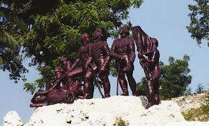 Les héros de la bataille de Vertières, 18 novembre 1803, contre l'armée française de Napoléon