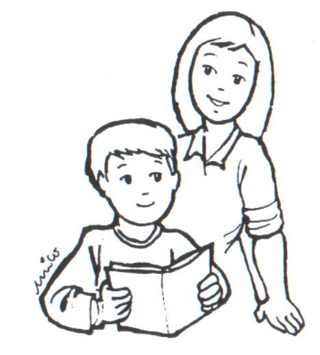 Niños leyendo la Biblia en dibujos - Imagui