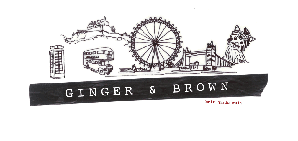 ginger and brown