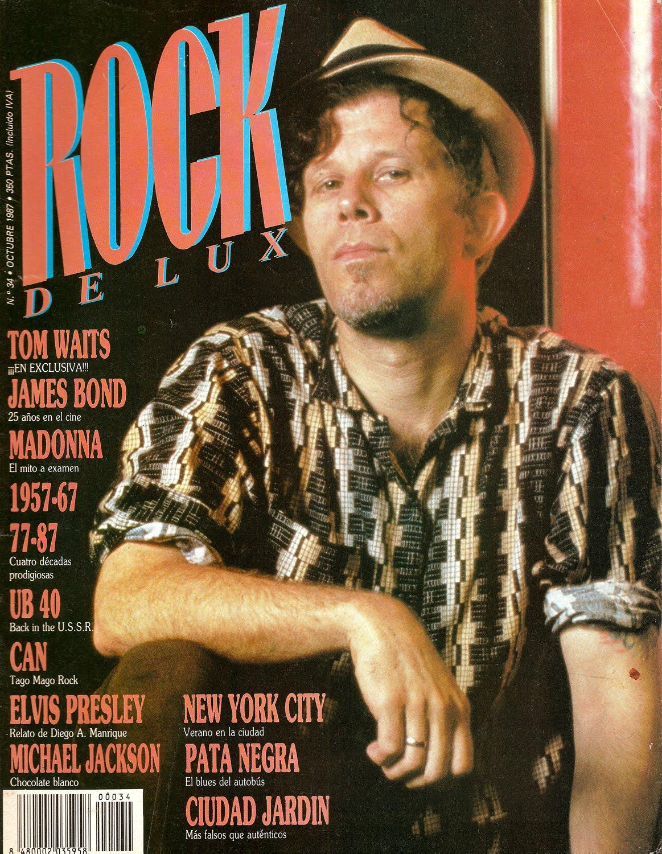 EL LOGO DE LA SEMANA - Página 3 Tom-waits-portada-rockdelux-34-octubre-1987