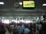 "'Horse race betting ring"" in Bangalore race-course(2009)"