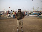 Self,Author Rudolph.A.Furtado at Malpe Fishing port(23-1-2008)