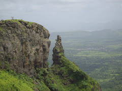 """Vanartok Pinnacle"" situated next to ""Sagargad fort"" hill Plateau."