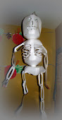 Recycled Jug Skeleton
