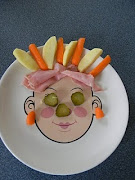Food Face Meals And Snacks