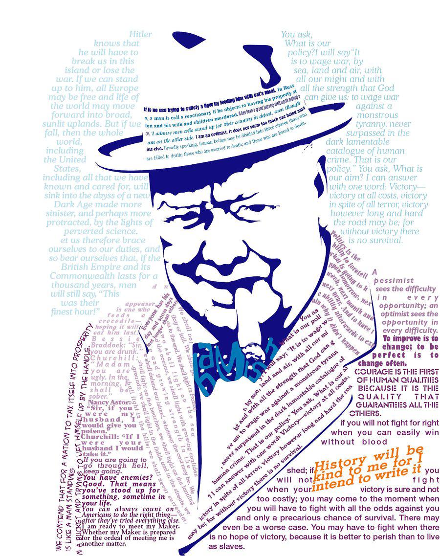 Citaten Churchill : Mijns inziens toespraken winston churchill op vier in