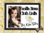 Vanilla Bean Cloth Dolls