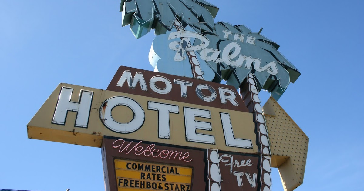 Ghosts of the great highway 10 fine examples neon signs for Motor inn near me