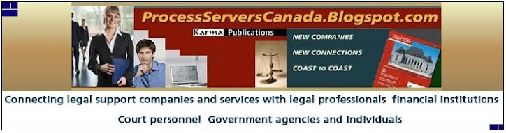 Process Servers Canada Blog - Process Servers - Canada | USA | Europe | Worldwide