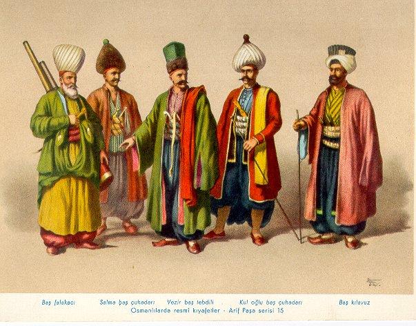 Tarihten Gezintiler  Edebiyattan EsintilerOttoman Turks People