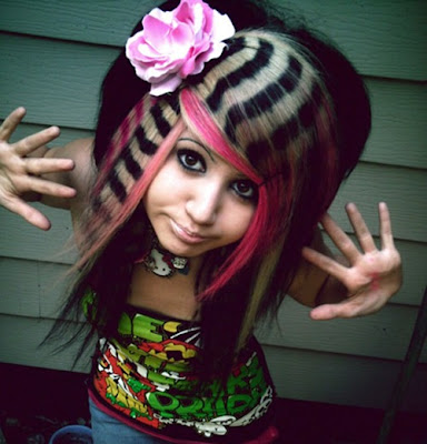 crazy makeup styles. pictures of crazy hairstyles.