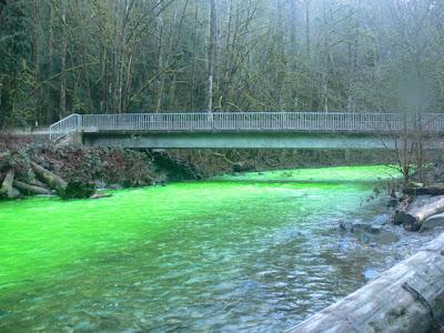 Cool Emerald Green River