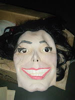 Is this The Joker or Michael Jackson? You'll have to look closely to be able to tell.