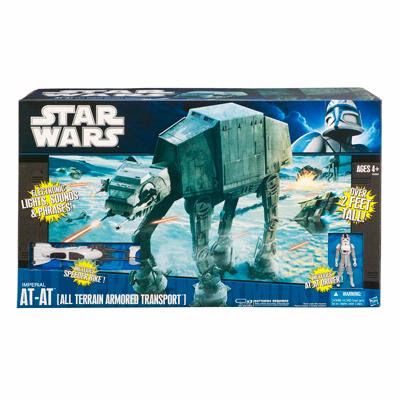 Star Wars Clone Wars - AT-AP Walker. by Hasbro Toy Workers: NEW!