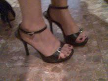 mis sandalias de charol, plataforma, 10 cmts
