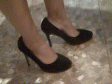 mis zapatos de pelo, plataforma, 10 cmts