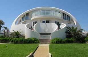 Unique Home Design Ideas, Is A Landscape Of White Houses With Beautiful And  Unique Architecture Of The Dome. The Room Is Huge And Neatly Arranged As An  ...