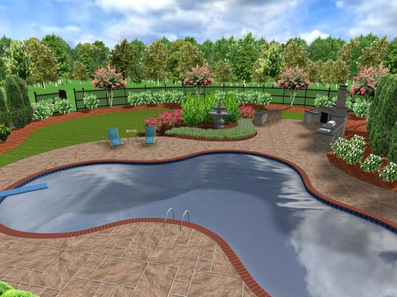 Atlanta landscape design awesome home design atlanta for 3d landscape design