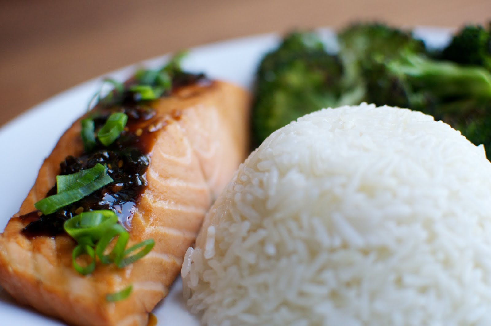 Fish and Veggies: Food52: Tangy Teriyaki Salmon