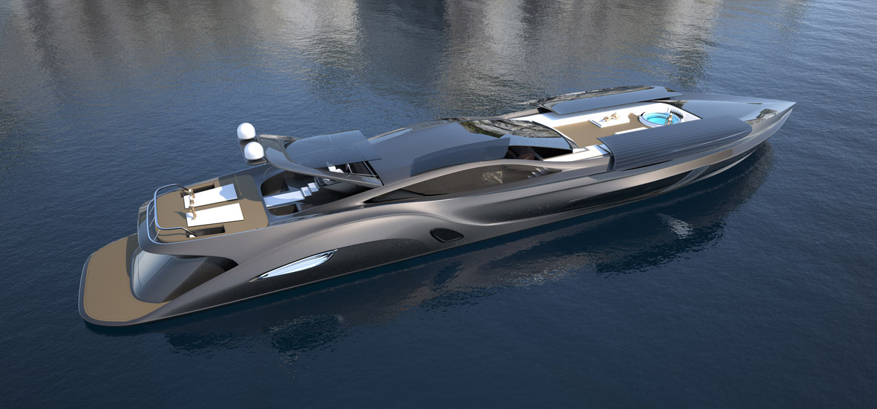 Modern motor boat designs and plans