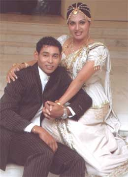 sri lankan taste fashion magazine dilshan amp manjula