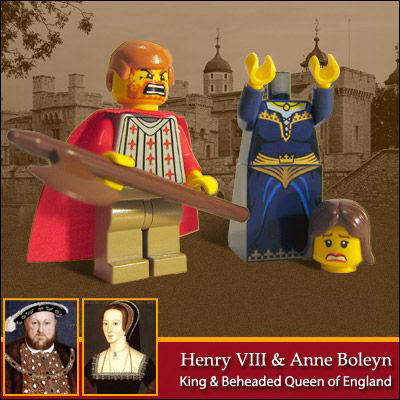 46 Famous people in Lego